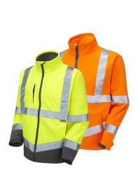 Hi Vis Softshell Jacket LEO SJ01