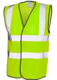Cheap Economy Yellow Hi Vis Vest