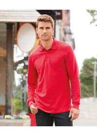 Gildan GD048,Long Sleeve Premium Polo Shirt