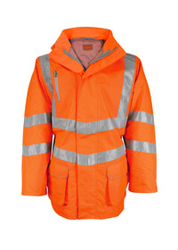 Orange Premium Hi Vis Padded Breathable Jacket