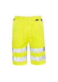Yellow Hi Vis Shorts Supertouch