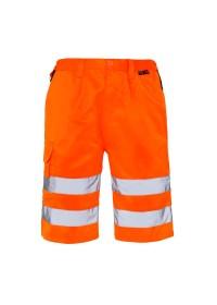 Orange Hi Vis Shorts Supertouch