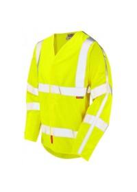 Leo s17 Flame retardant hi vsi vest with long sleeves