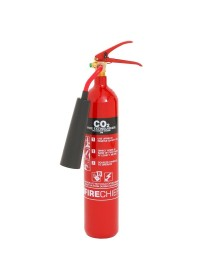C02 Fire Extinguisher 2KG With Anti Freeze Horn