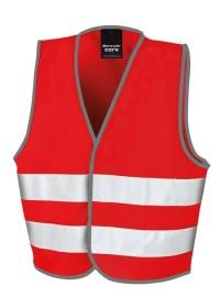 Kids Red Hi Vis Safety Vest R200J