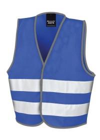 Kids Royal Blue Hi Vis Safety Vest R200J