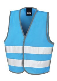 Kids Sky Blue Hi Vis Safety Vest R200J
