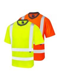 Hi Vis Polo Shirt Coolviz Leo P02