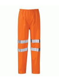 Hi Vis waterproof Rail Spec Overtrousers