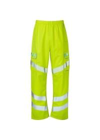 Yellow Hi Vis Evolution Trousers Pulsar EVO101
