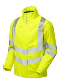 Pulsar P534 Yellow Hi Vis Softshell Jacket