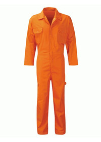 Stud Front Coverall Boilersuit
