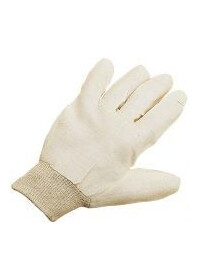 Glove Cotton drill Pack 12 304102