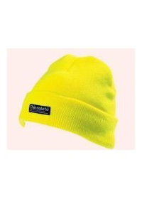 Hi Visibility yellow thinsulate cap hat CAP402