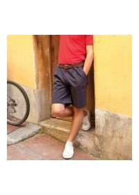 Henbury HB605,Teflon coated chino shorts