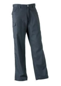 Russell J001M,Poly/Cotton Twill Trousers