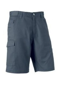 Russell  J002M,Poly/Cotton Twill  Shorts