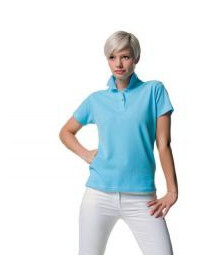 Jerzees Colours J569F,Women's 100% cotton polo