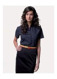 Russell  J935F,Women's short sleeve Easycare poplin shirt