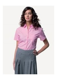 Russell  J937F,Women's S/S 100% cotton poplin shirt