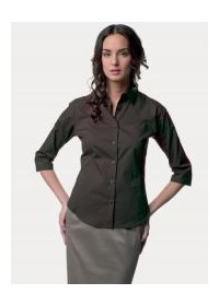 Russell  J946F,Women's 3/4 sleeve fitted shirt