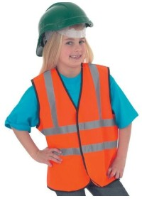 Childrens Personalised Printed Hi Vis Vest