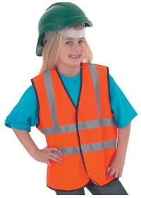 Childrens Custom Printed Hi Vis Vest