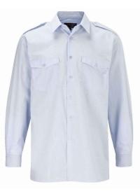 Long Sleeve Pilot Shirt with Logo