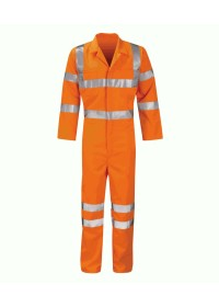Hi Vis Orange Railway Coverall GO/RT 3279