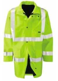 Gore Tex Hi Vis Coat Yellow
