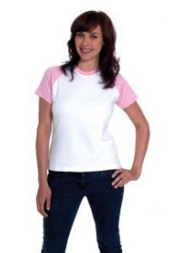 Uneek UC310 220GSM Ladies Raglan Short Sleeve T-Shirt includes your logo