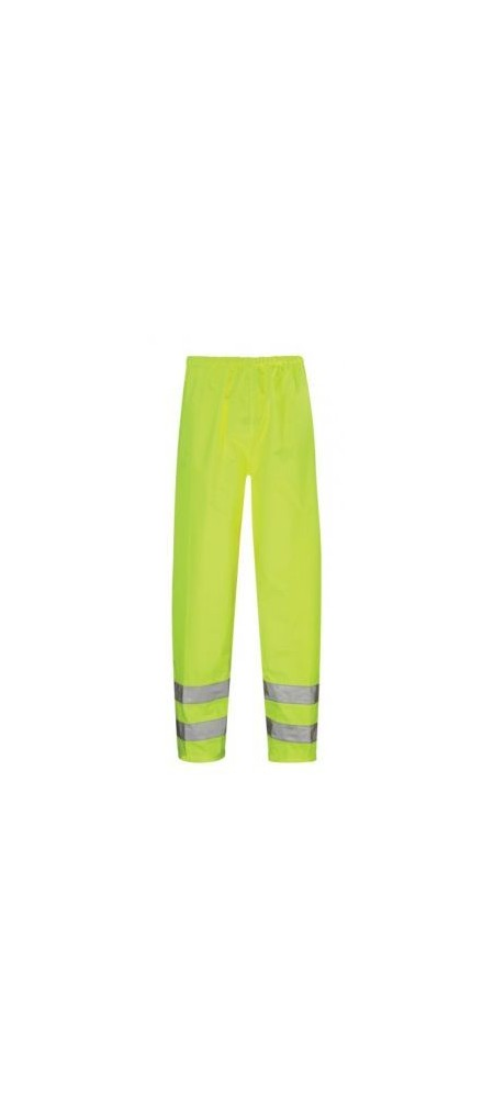Yellow Hi Vis Waterproof Overtrousers