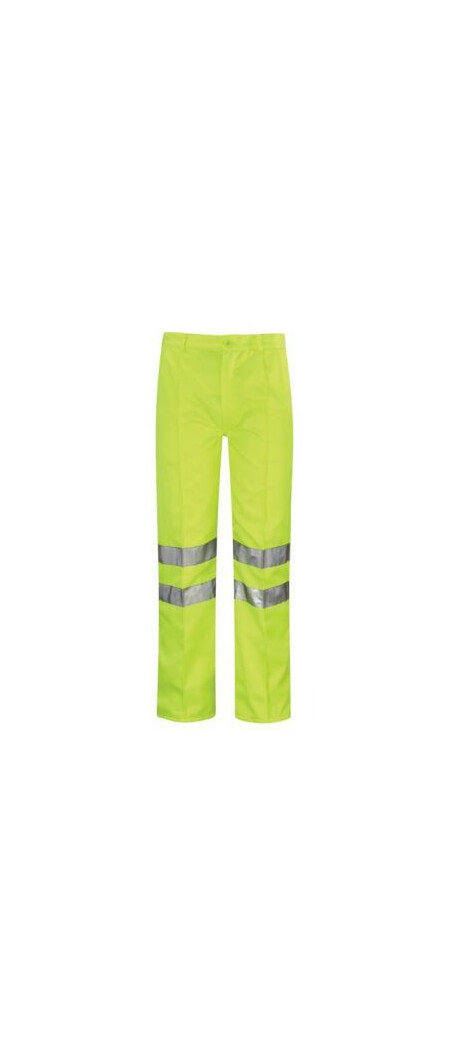 Hi Vis Poly Cotton Work Trousers