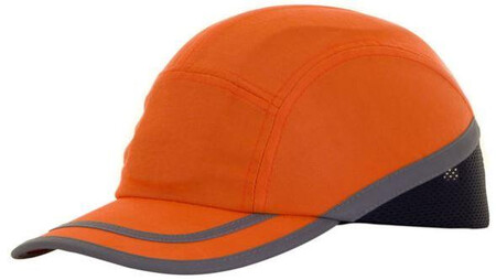 Safety Orange bump Cap