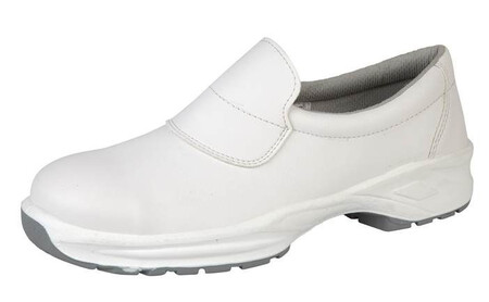 White Microfibre Slip On Shoe , HIMALAYAN-9950,
