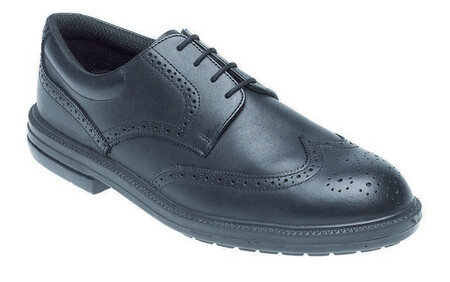 Brogue Safety Shoe with Midsole, TOESAVERS-912,