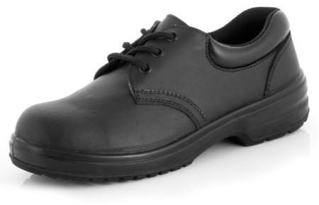 Ladies Black Safety Shoe
