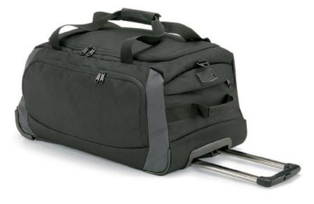 Quadra QD970 Tungsten wheelie travel bag