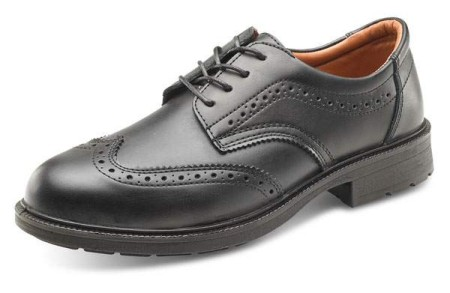 Brogue Style Safety Shoe