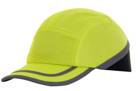 Yellow bump cap