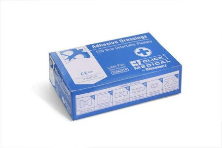 100 Blue Assorted Plasters CFABDP100
