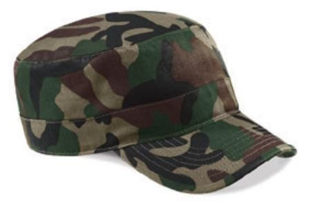 Beechfield BC033 Camouflage Army cap