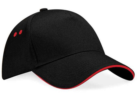 Beechfield BC15C Black/Classic Red