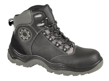 Black Non - Metallic Safety Boot, SECURITYLINE-4116,