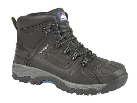 Black Waterproof S3 Safety Boot, HIMALAYAN-5206,