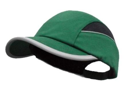 Green sureflex hi vis bump cap