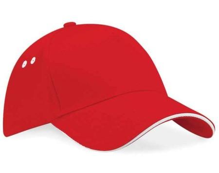 Beechfield BC15C Classic Red/White