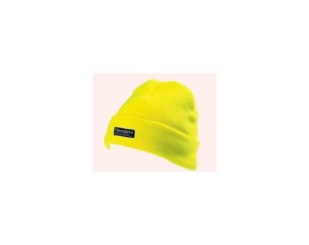 Hi Visibility yellow thinsulate cap hat CAP402
