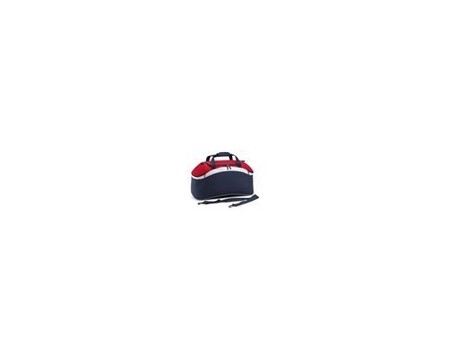 BagBase BG572 French Navy/Classic Red/White