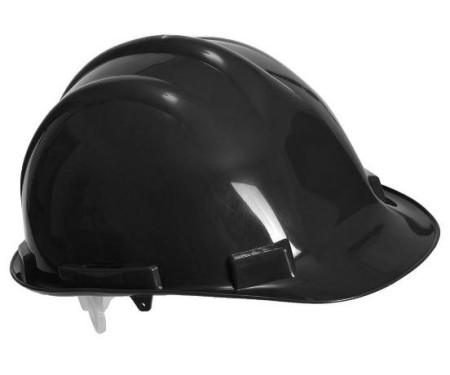 Black Safety Helmet Hard Hat PW50